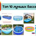 Выбираем лучший бассейн с AliExpress