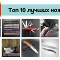 Лучшие ножи с AliExpress
