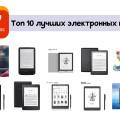 Лучшие электронные книги с AliExpress